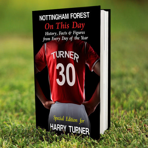 Personalised Nottingham Forest On This Day Book