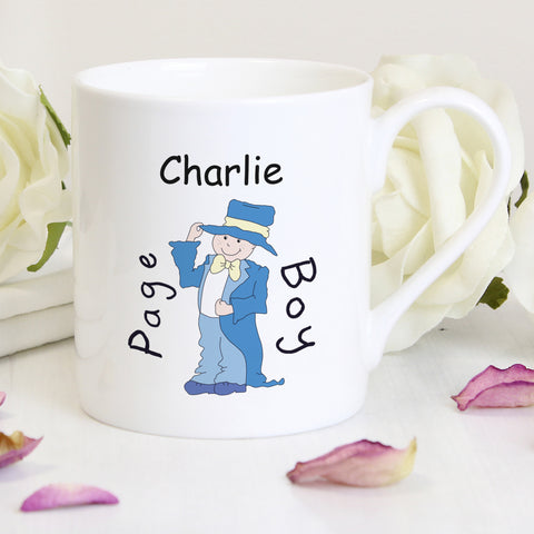 Personalised Page Boy Gifts