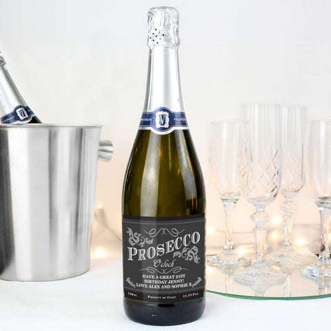 Personalised Prosecco UK