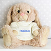 Personalised Bunny Rabbit Blue Name
