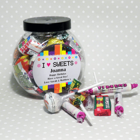 Personalised Sweets UK