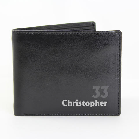 Personalised Birthday Wallet Gift