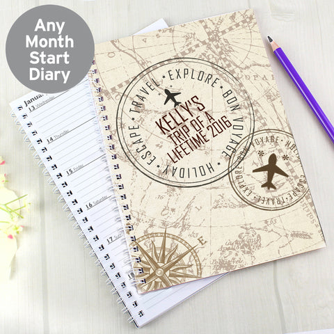 Personalised Travel Diary