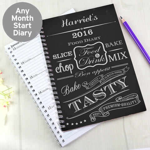 Personalised Food Diary