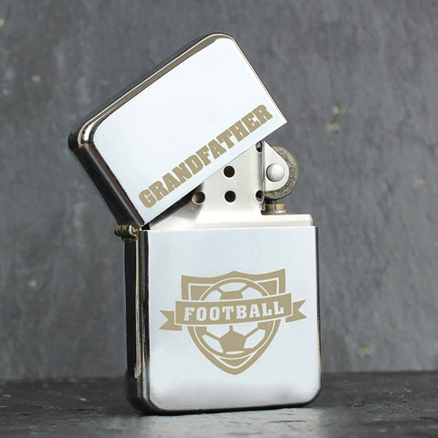 Personalised Football Lighter Gift