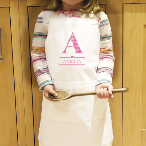 Personlaised Girls Apron