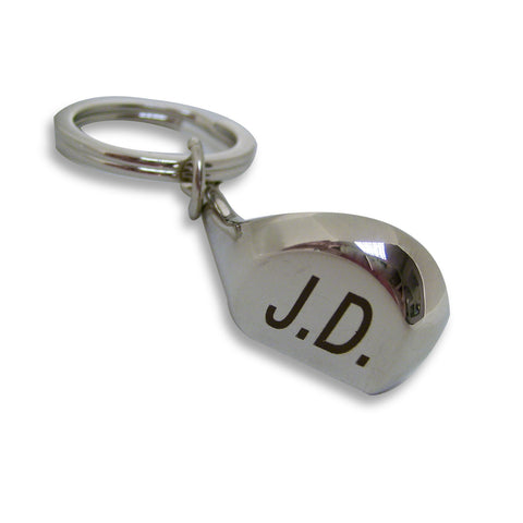 Personalised Golf Club Keyring Gift