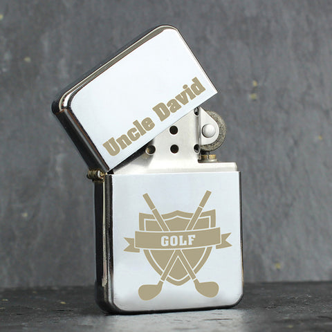 Personalised Golf Lighter Gift