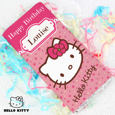 Personalised Hello Kitty Chocolate Bar