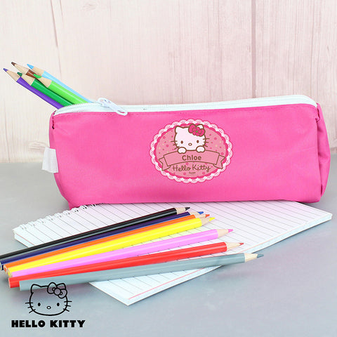 Personalised Hello Kitty Pencil Case Gift