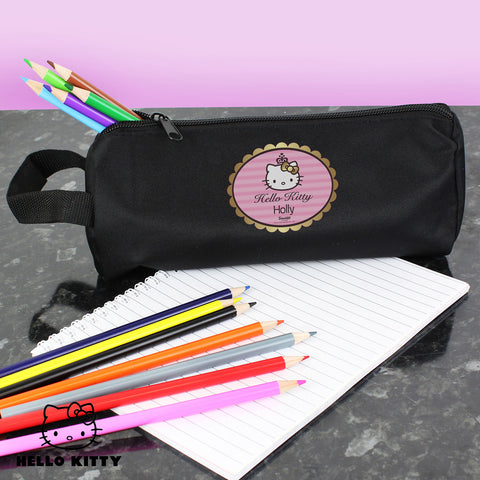Personalised Hello Kitty Chic Pencil Case Gift