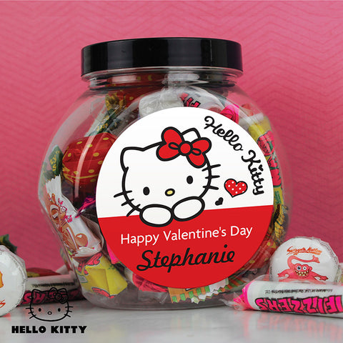 Personalised Hello Kitty I Love You Sweet Jar