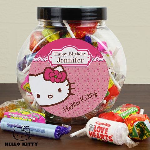 Personalised Hello Kitty Sweet Jar