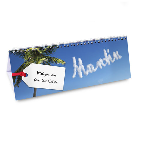 Personalised Holiday Calendar Gift