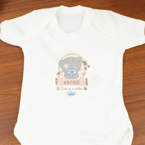 Personalised Me to You Baby Vest