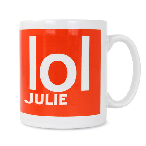 Personalised LOL Slogan Mug Gift