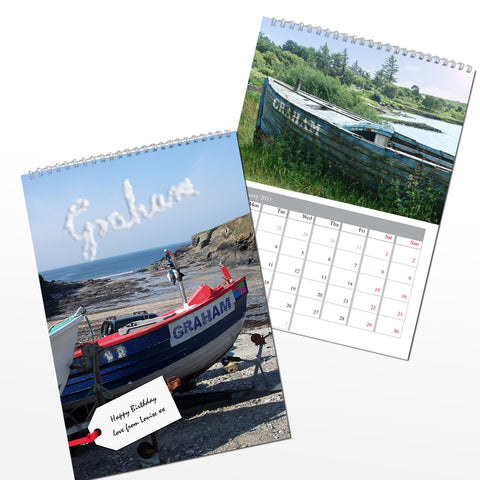 Personalised Name Calendars