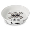 Personalised Bling Skull Pet Bowl