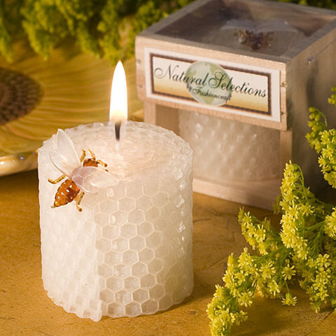 Pure Beeswax Candle Favours
