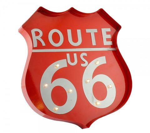 Route 66 LED Light Red