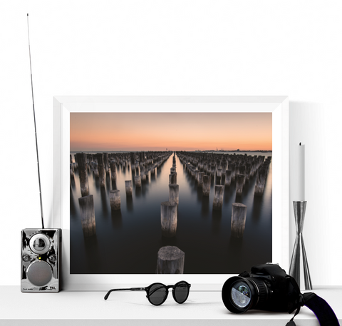 Calm Sea Photograph Printable