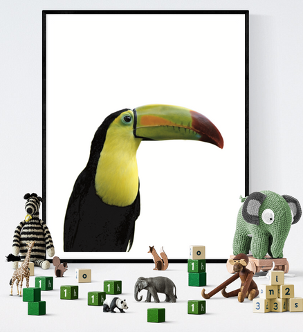 Toucan Art Printable
