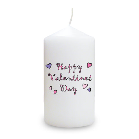 Happy Valentine's Day Candle Gift