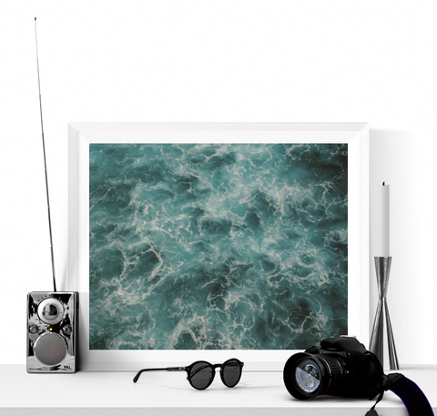 Ocean Waves Photograph Printable