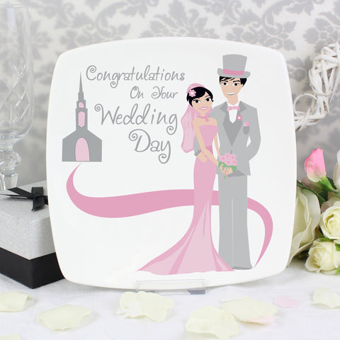 Fabulous Wedding Plate Present