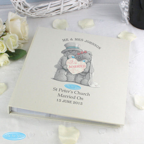 Personalised Me to You Wedding Photo Album