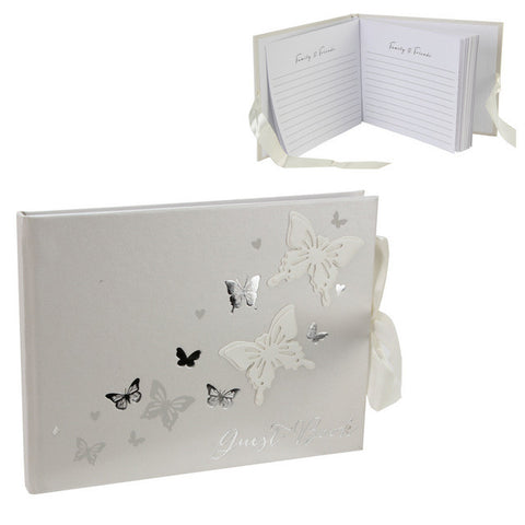 Butterfly Wedding Guest Book