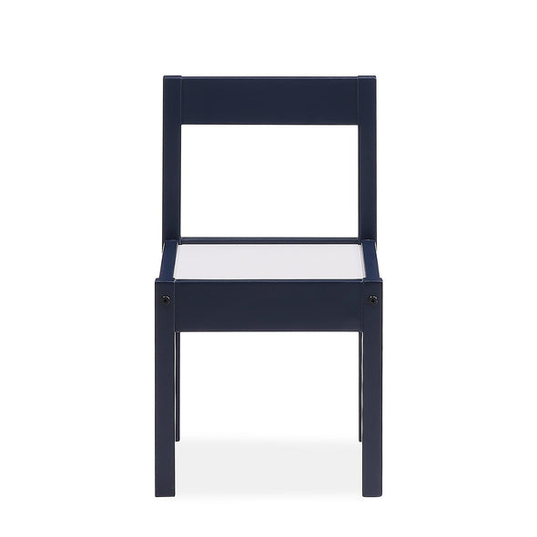 Hunter 3-Piece Kiddy Table & Chair Set - Blue - N/A