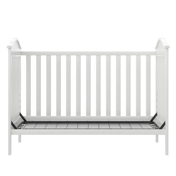 Adele  3-in-1 Convertible Crib - White - N/A