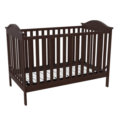 Adele  3-in-1 Convertible Crib - Espresso - N/A