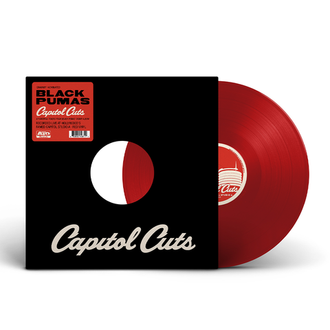 Black Pumas - Capitol Cuts - Live from Studio A (Red Vinyl)