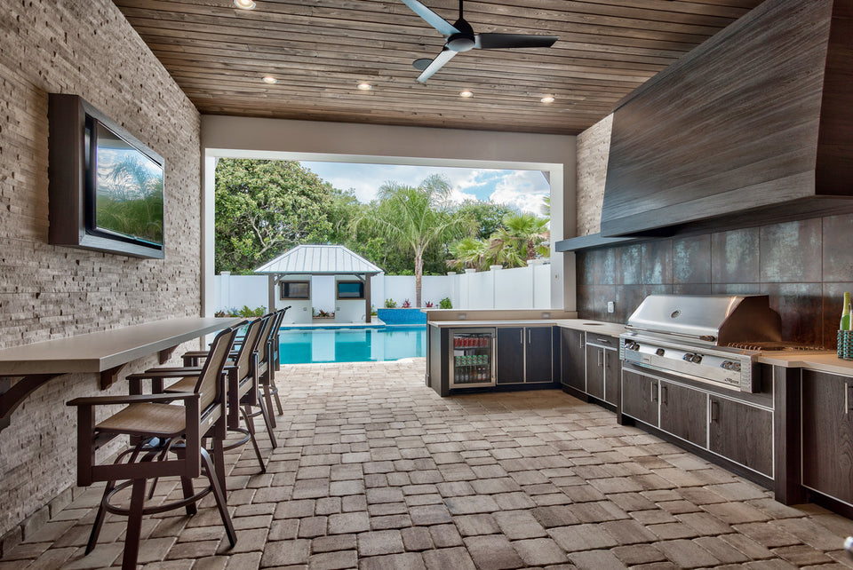 Outdoor Kitchens Sarasota, Venice, North Port and Englewood Florida - Indigo Pool Patio BBQ - Indigo Swimming Pools & Outdoor Living