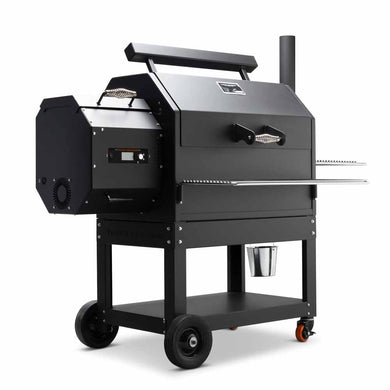 Yoder YS640S - Indigo Pool Patio BBQ