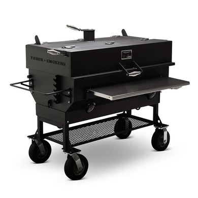 Yoder 24x48 Flat Top Grill - Indigo Pool Patio BBQ