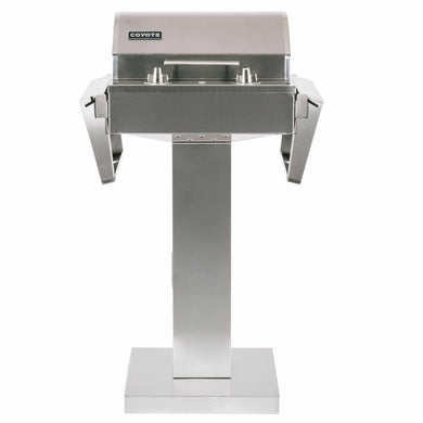 Coyote Electric Grill with Pedestal Stand - Indigo Pool Patio BBQ
