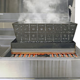 Smoker and Steamer for Outdoor Kitchen - Indigo Pool Patio BBQ