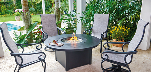 North Port FL Fire Pits and outdoor patio furniture - Indigo Pool Patio BBQ