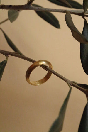 Anello Poesy I <br /> Oro Fairtrade 22k  <br />