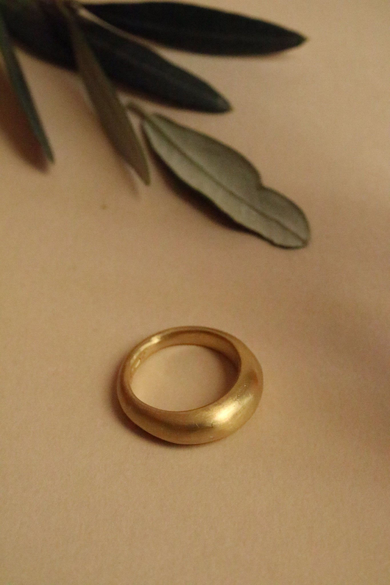 Anello Tesoro <br /> Oro Fairtrade 22k