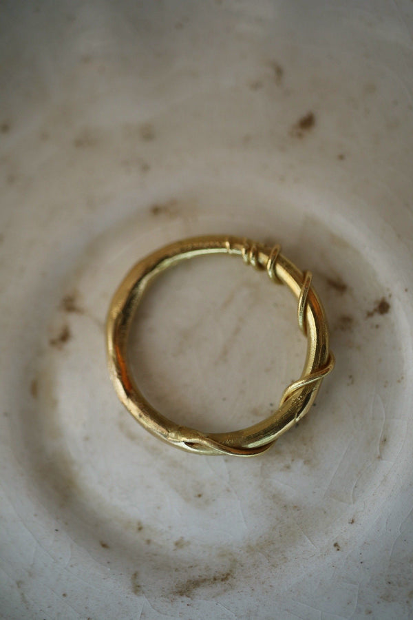 Anello Vite <br /> Oro Fairtrade 18k