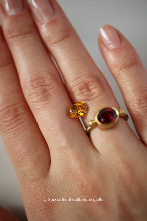 Anello Per Me <br /> Oro Fairtrade 22k