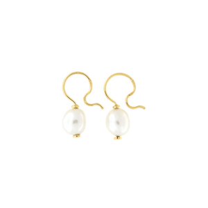 Orecchini Cielo <br /> esemplare N.18 <br /> Perle South Sea <br /> Oro Fairtrade 18k