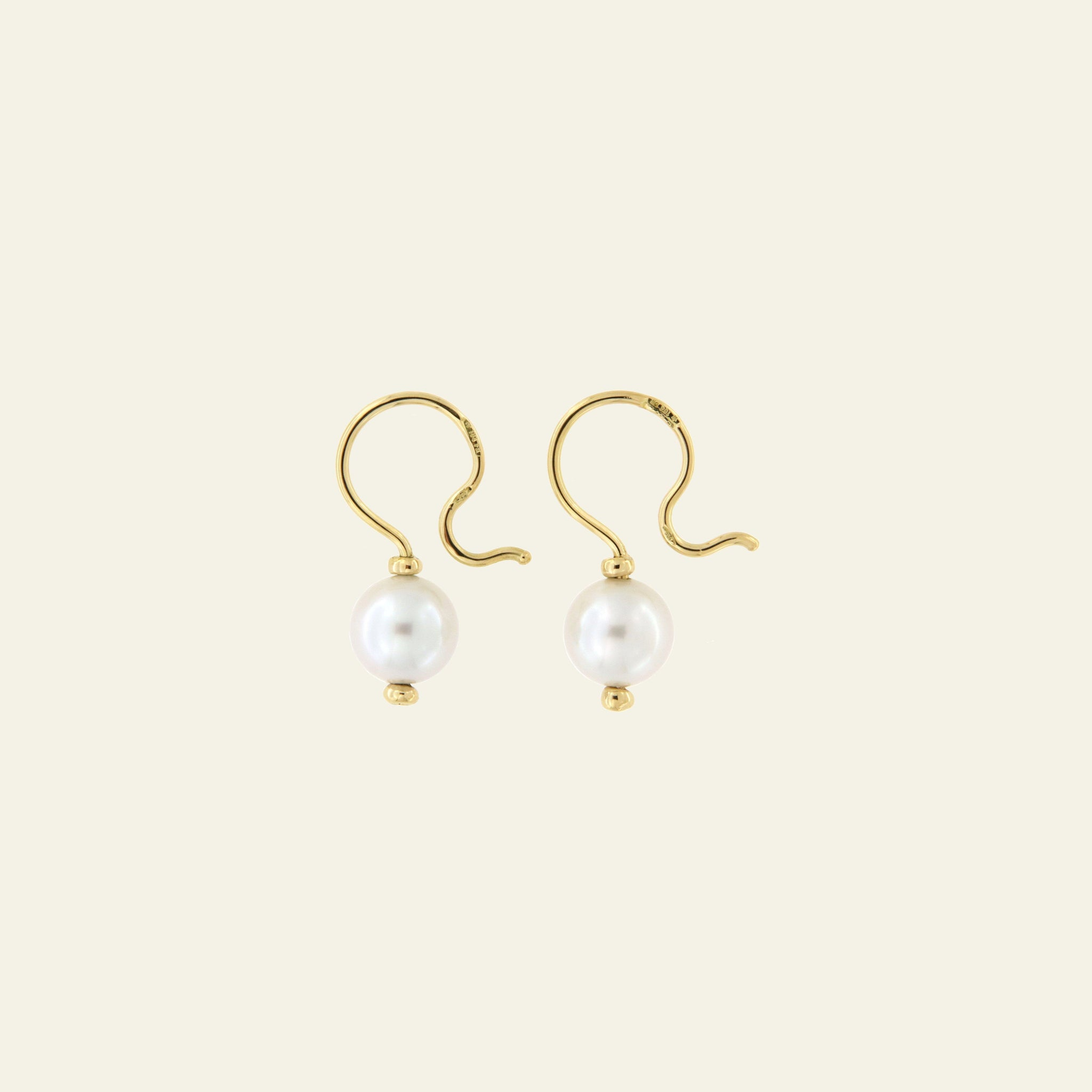 Orecchini Cielo <br /> esemplare N.31 <br /> Perle South Sea <br /> Oro Fairtrade 18k