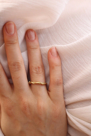 &quot;Vite&quot; <br /> Oro Fairtrade 18kt
