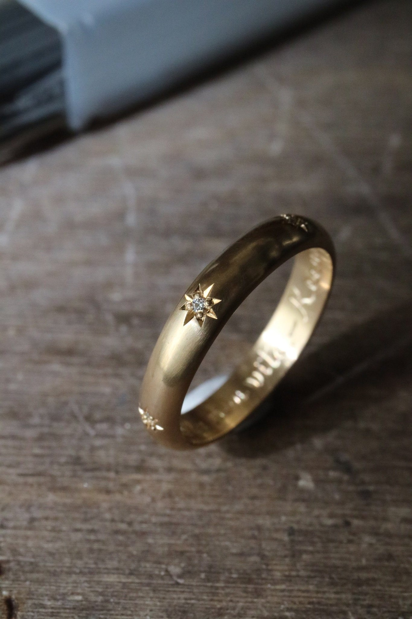 Anello Nottetempo <br /> Oro Fairtrade 18k  <br />