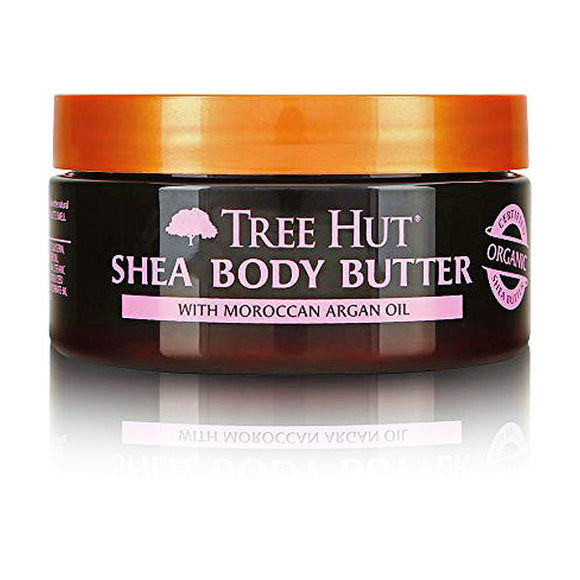 Body Cream Manteca Karite Rosa de Marruecos Tree Hut (198 g)